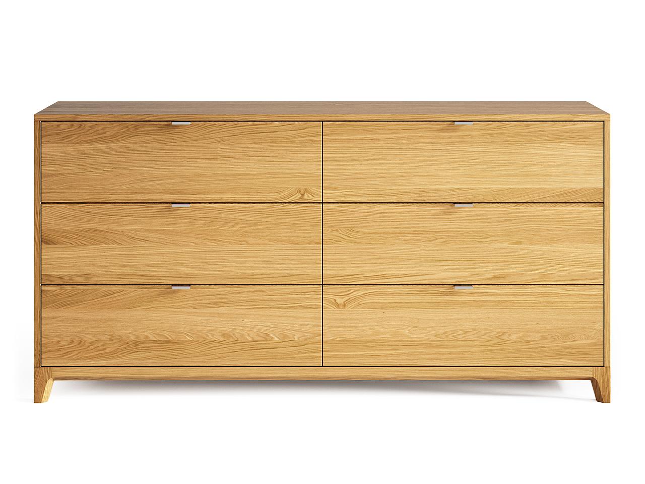 Комод Case №3 (Натуральный дуб)Бельевые комоды<br>&amp;lt;div&amp;gt;Комод CASE #3 с шестью выдвижными ящиками отлично подойдет для организации хранения вещей в спальне, но также может быть использован в гостиной и других помещениях. У комода увеличенная глубина 450 мм, дно ящиков выполнено из ДСП 16 мм, обладающего высоким запасом прочности.&amp;lt;br&amp;gt;&amp;lt;/div&amp;gt;&amp;lt;div&amp;gt;&amp;lt;br&amp;gt;&amp;lt;/div&amp;gt;&amp;lt;div&amp;gt;&amp;lt;div&amp;gt;Цвет: Натуральный дуб.&amp;lt;/div&amp;gt;&amp;lt;div&amp;gt;Материал: Массив дуба, натуральный шпон дуба, МДФ, ДСП, лак.&amp;lt;/div&amp;gt;&amp;lt;/div&amp;gt;<br><br>Material: Дуб<br>Ширина см: 160<br>Высота см: 80<br>Глубина см: 45