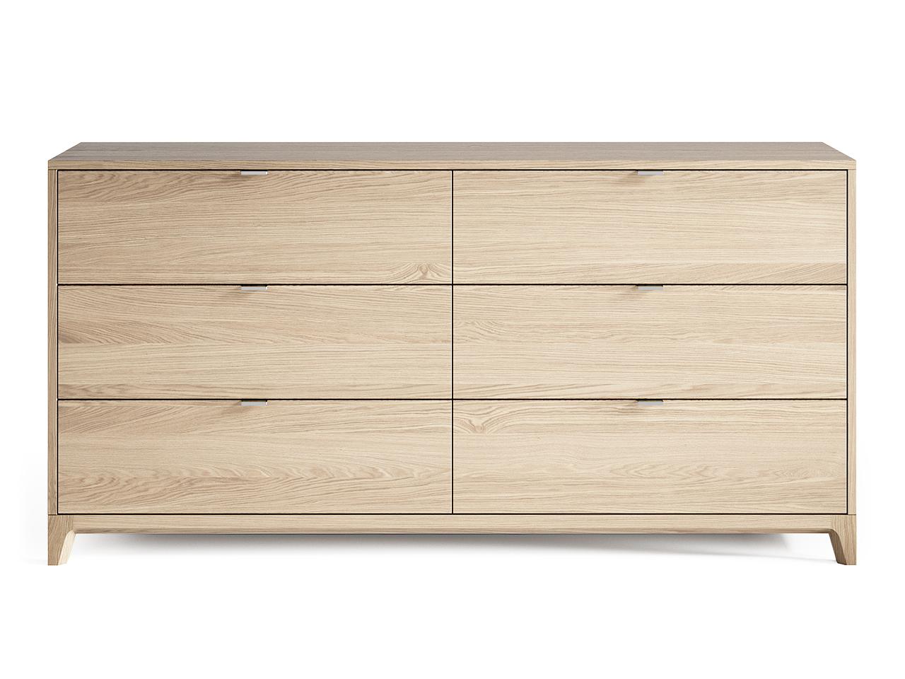 Комод Case №3 (Осветленный дуб)Бельевые комоды<br>&amp;lt;div&amp;gt;Комод CASE #3 с шестью выдвижными ящиками отлично подойдет для организации хранения вещей в спальне, но также может быть использован в гостиной и других помещениях. У комода увеличенная глубина 450 мм, дно ящиков выполнено из ДСП 16 мм, обладающего высоким запасом прочности.&amp;lt;br&amp;gt;&amp;lt;/div&amp;gt;&amp;lt;div&amp;gt;&amp;lt;br&amp;gt;&amp;lt;/div&amp;gt;&amp;lt;div&amp;gt;&amp;lt;div&amp;gt;Цвет: Осветленный дуб.&amp;lt;/div&amp;gt;&amp;lt;div&amp;gt;Материал: Массив дуба, натуральный шпон дуба, МДФ, ДСП, лак.&amp;lt;/div&amp;gt;&amp;lt;/div&amp;gt;<br><br>Material: Дуб<br>Ширина см: 160<br>Высота см: 80<br>Глубина см: 45