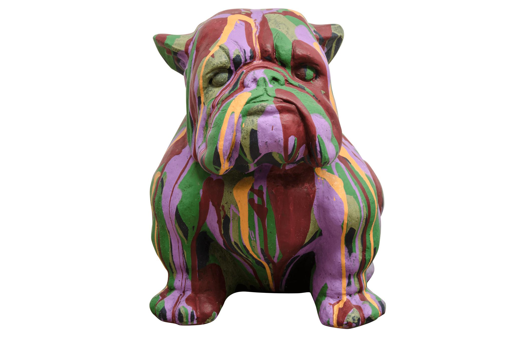 Фигурка BulldogСкульптуры<br><br><br>Material: Цемент<br>Ширина см: 31.0<br>Высота см: 44.0<br>Глубина см: 41.0