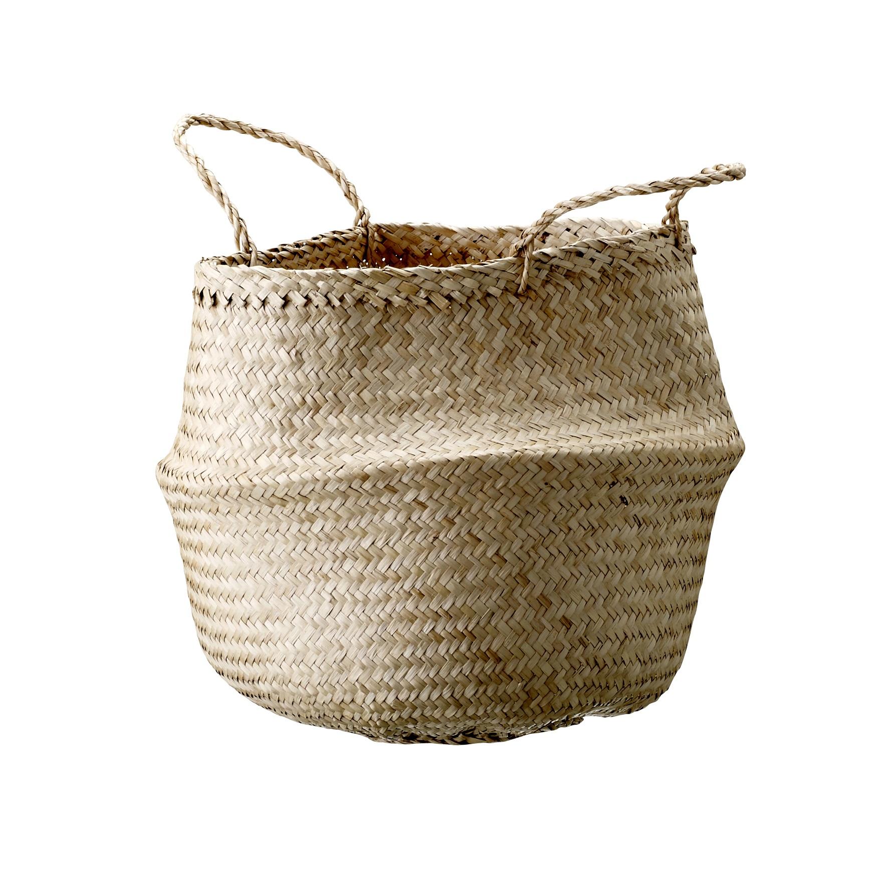 Корзина SoftКорзины<br>Корзина SOFT плетеная.&amp;nbsp;Материал: водоросли.<br><br>kit: None<br>gender: None