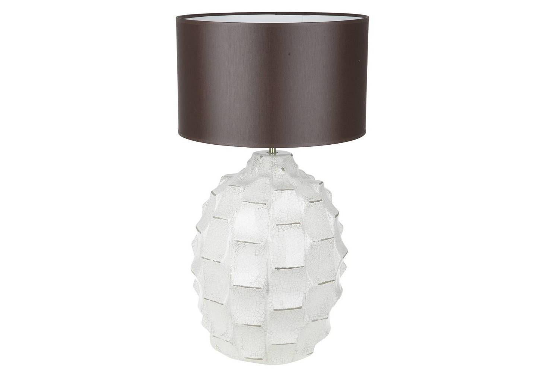 Настольная лампаНастольные лампы<br>Материал: керамика, ткань.<br>Вид цоколя: E27Мощность:  60WКоличество ламп: 1 (нет в комплекте)