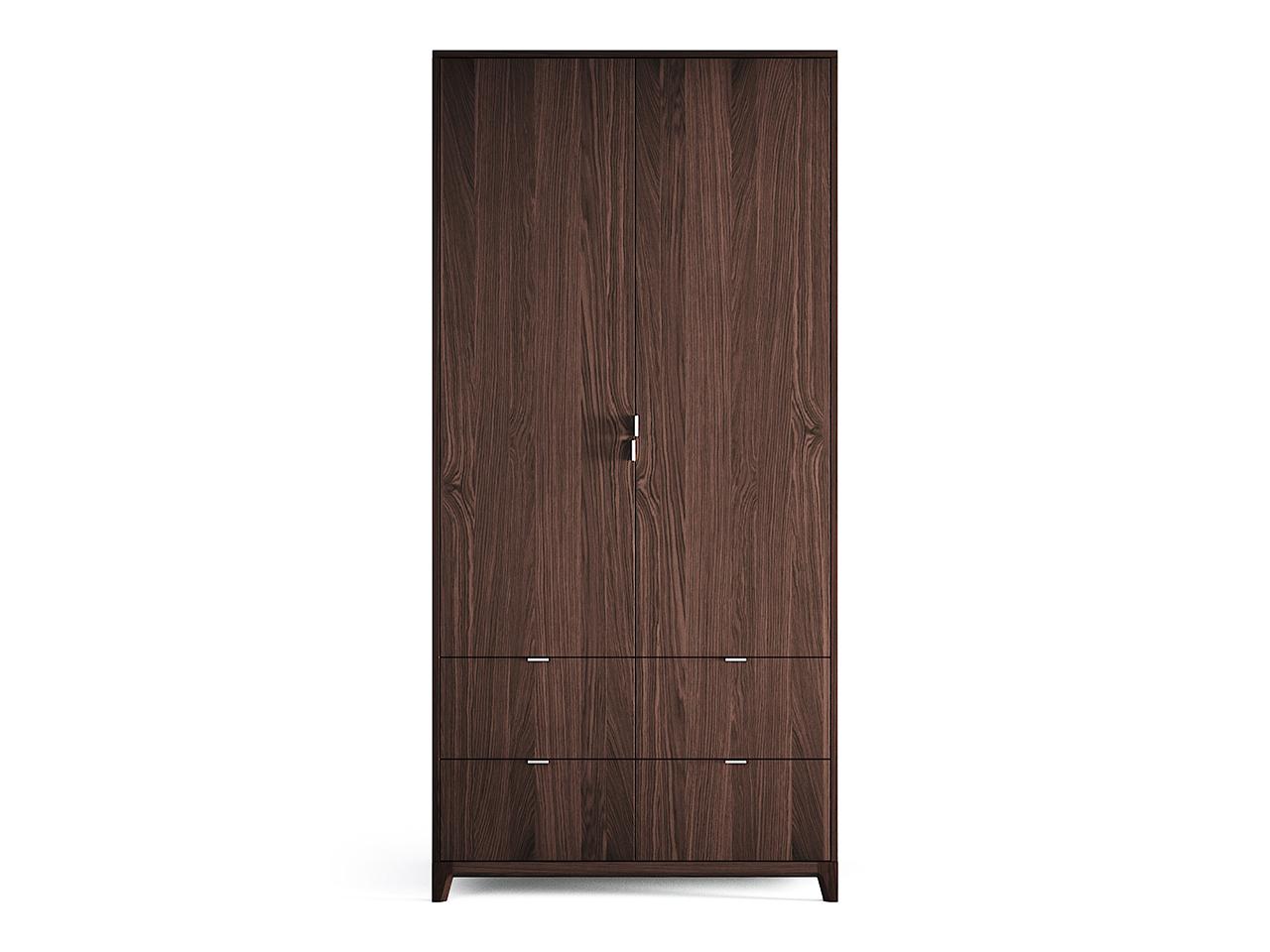 Шкаф Case №4 (темный)Платяные шкафы<br>Компактный шкаф CASE №4 сочетает в себе продуманную структуру и современный дизайн впишется даже в самое небольшое уютное помещение.В новом варианте предлагаются ящики с внешними фасадами, а также обновленное наполнение шкафов. Внутри комфортно расположены полки и штанги для вешалок, сплошная перфорация позволяет устанавливать полки в удобном положении.&amp;lt;div&amp;gt;&amp;lt;br&amp;gt;&amp;lt;/div&amp;gt;&amp;lt;div&amp;gt;Материал: массив дуба, МДФ, ДСП, эмаль, лак&amp;lt;br&amp;gt;&amp;lt;/div&amp;gt;<br><br>Material: Дуб<br>Ширина см: 100.0<br>Высота см: 210.0<br>Глубина см: 60.0