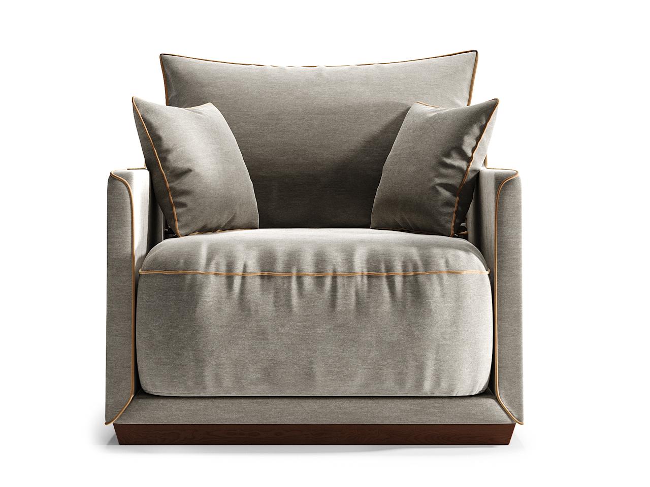 Кресло SohoИнтерьерные кресла<br>Кресло SOHO станет прекрасным акцентом в вашем интерьере, а также может стать отличным дополнением к дивану SOHO.Оно гармонично сочетает в себе мягкие пуховые подушки, удобные и глубокие нижние подушки, основательный цоколь и прочный каркас из массива березы. Изюминкой коллекции стали декоративные канты, цвет которых можно выбрать наравне с основной отделкой диванов из палитры The IDEA. Дополняют образ плавные боковые линии каркаса.&amp;lt;div&amp;gt;&amp;lt;br&amp;gt;&amp;lt;/div&amp;gt;&amp;lt;div&amp;gt;&amp;lt;div&amp;gt;Цвет: береза Тобакко, ткань категория 1. шенил 22+29.&amp;lt;/div&amp;gt;&amp;lt;div&amp;gt;Цвет канта можно выбрать из палитры тканей Категории 2.&amp;lt;br&amp;gt;&amp;lt;/div&amp;gt;&amp;lt;div&amp;gt;Материал: массив березы, фанера, обивка - ткань, прорезиненный пенополиуретан, холлофайбер, пух-перо.&amp;lt;/div&amp;gt;&amp;lt;/div&amp;gt;<br><br>Material: Текстиль<br>Ширина см: 94.0<br>Высота см: 92.0<br>Глубина см: 94.0