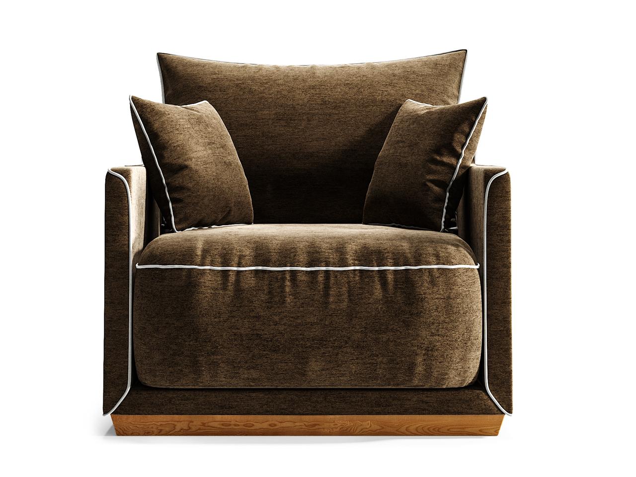 Кресло SohoИнтерьерные кресла<br>Кресло SOHO станет прекрасным акцентом в вашем интерьере, а также может стать отличным дополнением к дивану SOHO.Оно гармонично сочетает в себе мягкие пуховые подушки, удобные и глубокие нижние подушки, основательный цоколь и прочный каркас из массива березы. Изюминкой коллекции стали декоративные канты, цвет которых можно выбрать наравне с основной отделкой диванов из палитры The IDEA. Дополняют образ плавные боковые линии каркаса.&amp;lt;div&amp;gt;&amp;lt;br&amp;gt;&amp;lt;/div&amp;gt;&amp;lt;div&amp;gt;&amp;lt;div&amp;gt;Цвет: светлая береза, ткань категория 1. шенил 01+04.&amp;lt;/div&amp;gt;&amp;lt;div&amp;gt;Цвет канта можно выбрать из палитры тканей Категории 2.&amp;lt;br&amp;gt;&amp;lt;/div&amp;gt;&amp;lt;div&amp;gt;Материал: массив березы, фанера, обивка - ткань, прорезиненный пенополиуретан, холлофайбер, пух-перо.&amp;lt;/div&amp;gt;&amp;lt;/div&amp;gt;<br><br>Material: Текстиль<br>Ширина см: 94.0<br>Высота см: 92.0<br>Глубина см: 94.0