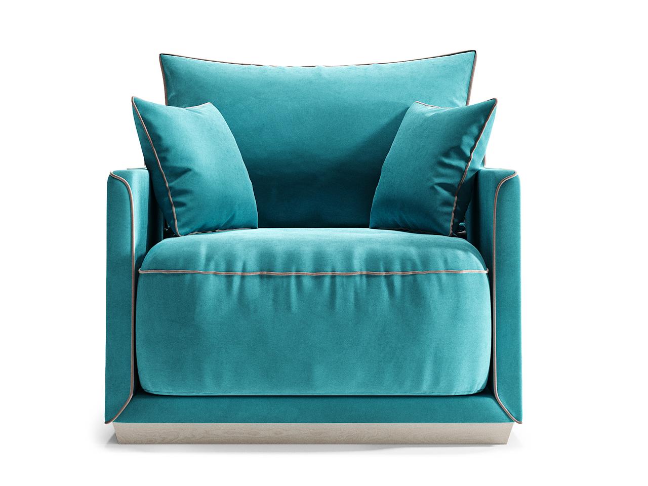 Кресло SohoИнтерьерные кресла<br>Кресло SOHO станет прекрасным акцентом в вашем интерьере, а также может стать отличным дополнением к дивану SOHO.Оно гармонично сочетает в себе мягкие пуховые подушки, удобные и глубокие нижние подушки, основательный цоколь и прочный каркас из массива березы. Изюминкой коллекции стали декоративные канты, цвет которых можно выбрать наравне с основной отделкой диванов из палитры The IDEA. Дополняют образ плавные боковые линии каркаса.Цвет канта можно выбрать из палитры тканей Категории 2.<br><br>Material: Текстиль<br>Ширина см: 94.0<br>Высота см: 92.0<br>Глубина см: 94.0