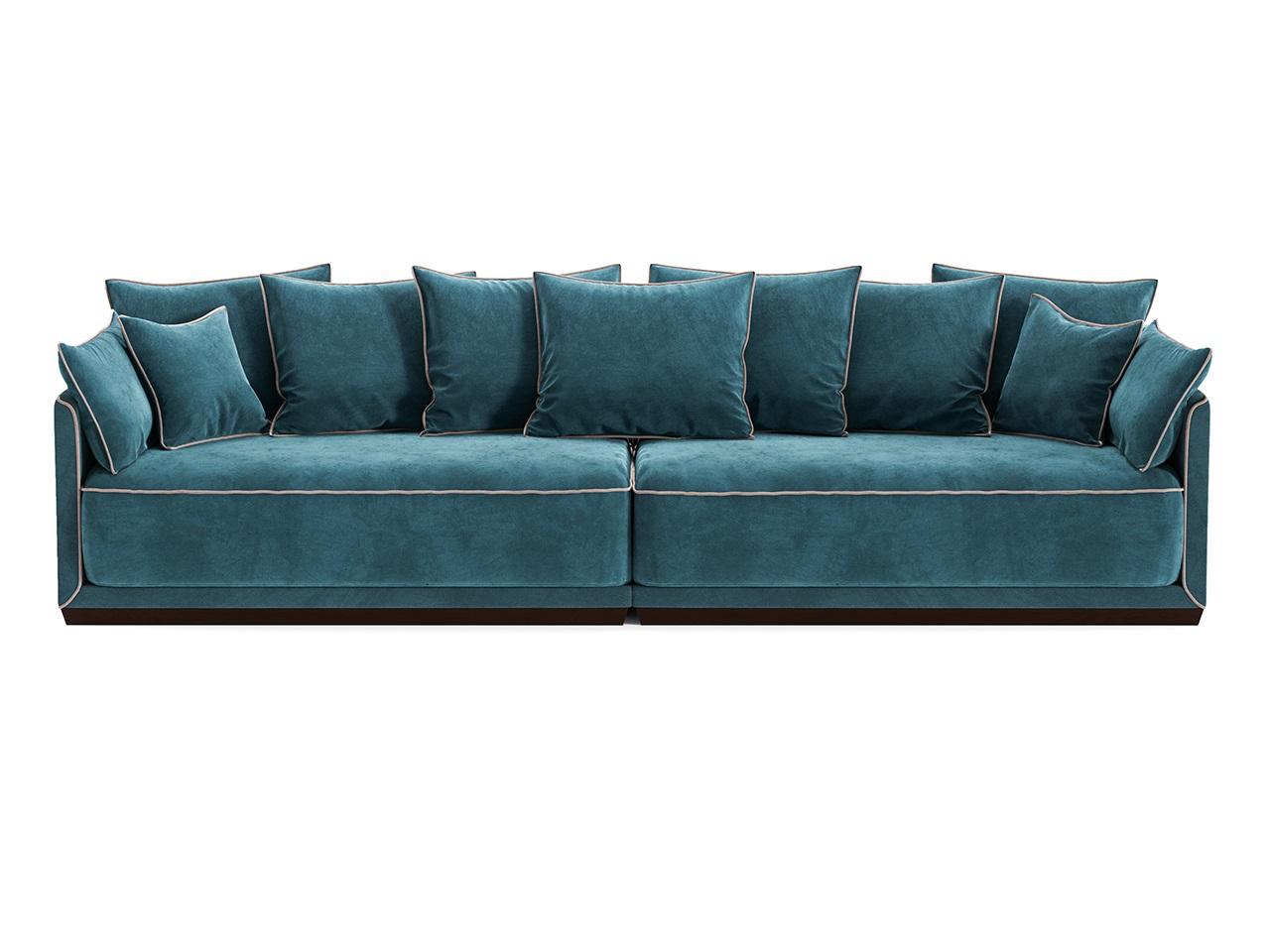 Диван SohoДиваны четырехместные и более<br>В коллекции модульных диванов SOHO гармонично сочетаются мягкие пуховые подушки, удобные и глубокие нижние подушки,основательный цоколь и прочный каркас из массива березы. Изюминкой коллекции стали декоративные канты, цвет которых можно выбрать наравне с основной отделкой диванов из палитры The IDEA. Дополняют образ плавные боковые линии каркаса.&amp;lt;div&amp;gt;&amp;lt;br&amp;gt;&amp;lt;/div&amp;gt;&amp;lt;div&amp;gt;&amp;lt;div&amp;gt;Цвет: береза Венге, ткань категория 2. микровелюр 33+53.&amp;lt;/div&amp;gt;&amp;lt;div&amp;gt;Цвет канта можно выбрать из палитры тканей Категории 2&amp;lt;br&amp;gt;&amp;lt;/div&amp;gt;&amp;lt;div&amp;gt;Материал: массив березы, фанера, обивка - ткань, прорезиненный пенополиуретан, холлофайбер, пух-перо.&amp;lt;/div&amp;gt;&amp;lt;/div&amp;gt;<br><br>Material: Текстиль<br>Ширина см: 308<br>Высота см: 92<br>Глубина см: 94