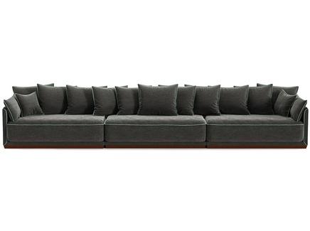 Диван soho (the idea) серый 462x92x94 см.