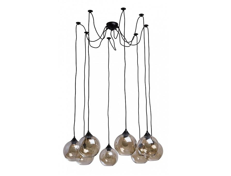 Подвесной светильник ФьюженПодвесные светильники<br>Вид цоколя: E27Мощность:&amp;nbsp; 40WКоличество ламп: 8 (нет в комплекте)<br><br>kit: None<br>gender: None
