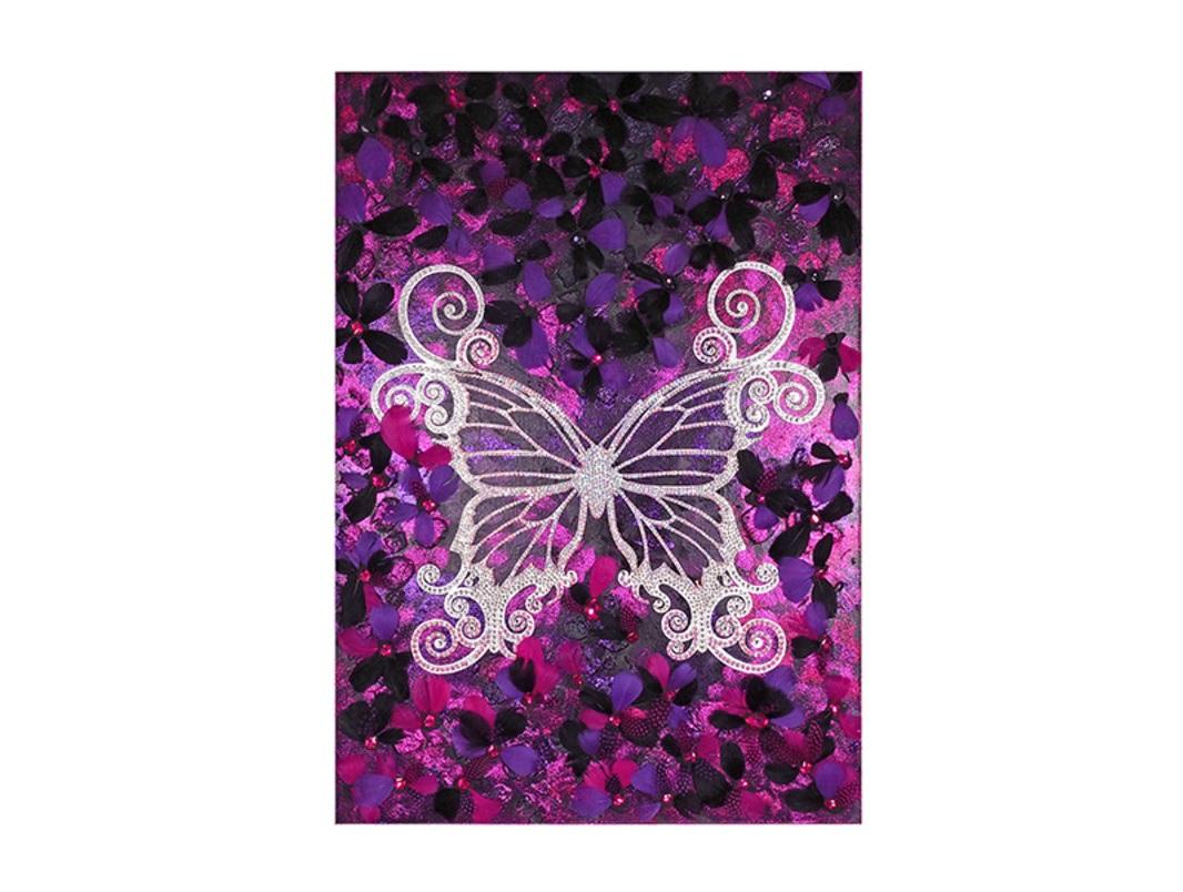 Панно «Ночная бабочка»