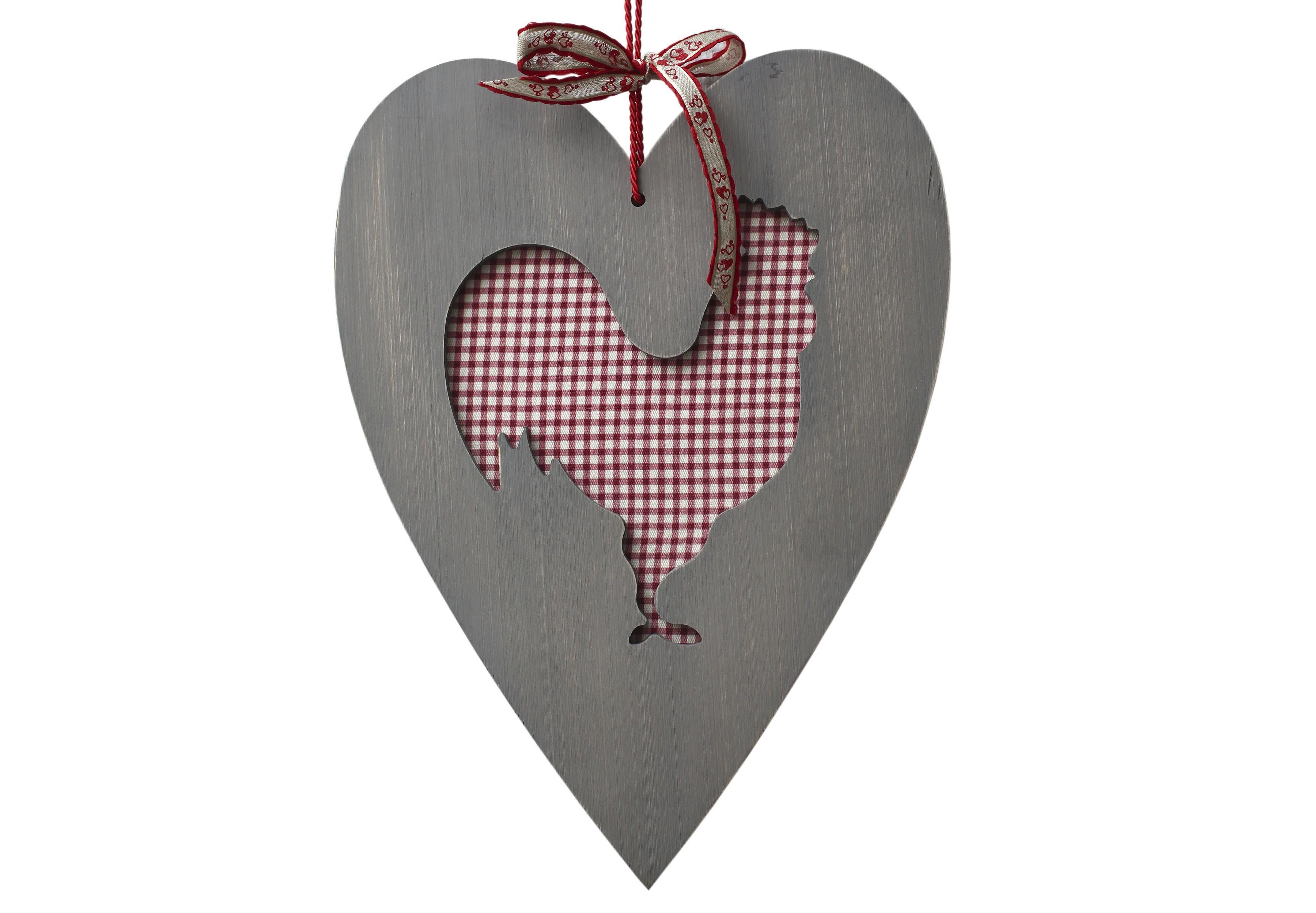 Декоративная разделочная доска Петух скандинавскийПодставки и доски<br>Декоративная разделочная деревянная доска &amp;quot;Петух  -сердце Прованса&amp;quot;, оригинальный подарок на кухню, на Новый Год и Рождество со вставкой -100% хлопок,  клетка или полоска. Внутренний деревянный петушок используется как подставка под горячее.<br><br>Material: Дерево<br>Ширина см: 36.0<br>Высота см: 36.0<br>Глубина см: 1.1