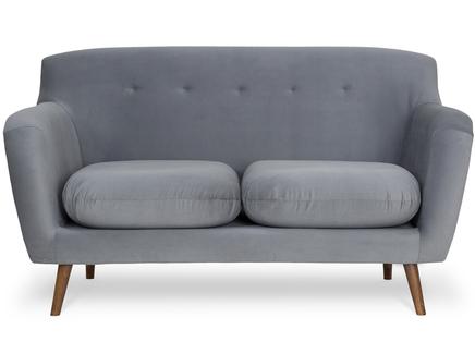 Диван oslo (myfurnish) серый 151x83x89 см.