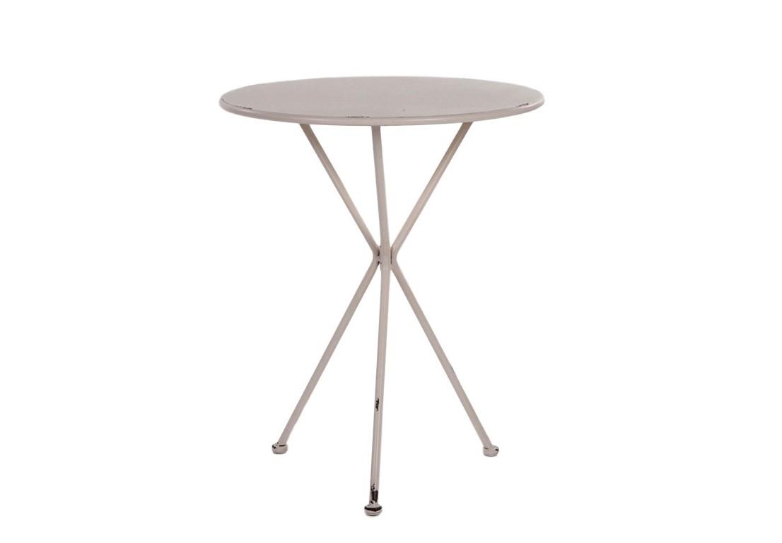 Стол ConradoСтолы и столики для сада<br>Материал: кованое железо.<br><br>Material: Железо<br>Ширина см: 60.0<br>Высота см: 73.0<br>Глубина см: 60.0