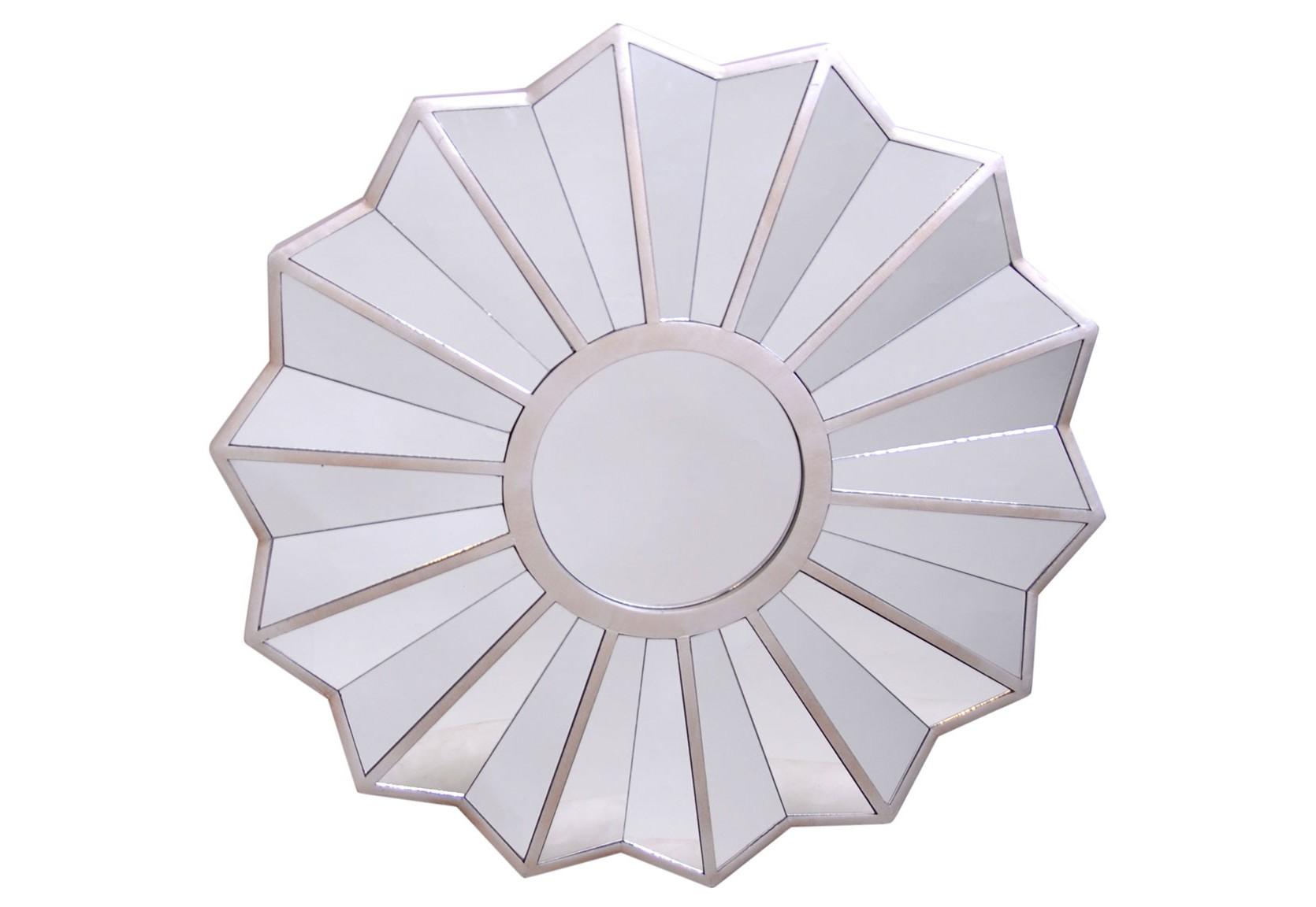 Круглое зеркалоНастенные зеркала<br><br><br>Material: Металл<br>Глубина см: 4