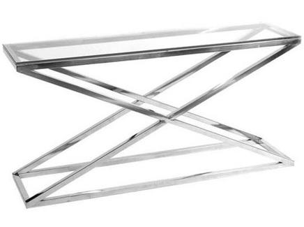 Консоль ayser (zmebel) серебристый 150x74x40 см.