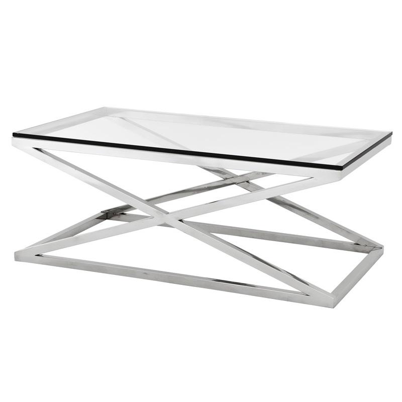Журнальный столик AyserЖурнальные столики<br>Бесконечно оригинальная и ультрамодный Журнальный столик Ayser, превосходно впишется в комнату любого размера. За счет уникальной конструкции и полированной стали он отразит в себе Ваш модный интерьер. Такой предмет мебели непременно привнесет в Ваш дом дополнительный роскошь, изысканность и шик.<br><br>Material: Стекло<br>Ширина см: 120.0<br>Высота см: 47.0<br>Глубина см: 70.0