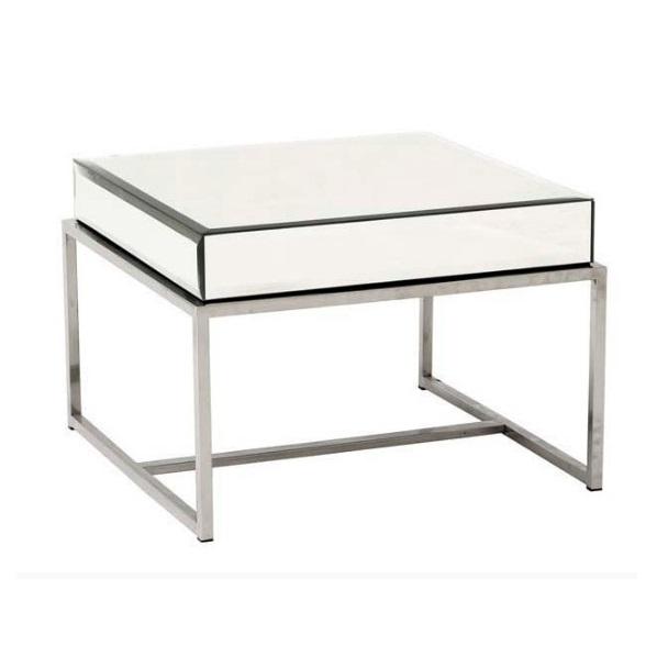 Приставной стол    PachaПриставные столики<br>Журнальный столик Pacha - это роскошный предмет мебели, который придется по вкусу ценителям изысканных и дорогих вещей. Основание аксессуара изготовлено из стали, а столешница из зеркал, отражающие блики света и визуально увеличивающие пространство.&amp;lt;div&amp;gt;&amp;lt;br&amp;gt;&amp;lt;/div&amp;gt;&amp;lt;div&amp;gt;&amp;lt;span style=&amp;quot;font-size: 14px;&amp;quot;&amp;gt;Материал: нержавеющая сталь, стекло.&amp;lt;/span&amp;gt;&amp;lt;br&amp;gt;&amp;lt;/div&amp;gt;<br><br>Material: Сталь<br>Ширина см: 65<br>Высота см: 40<br>Глубина см: 65