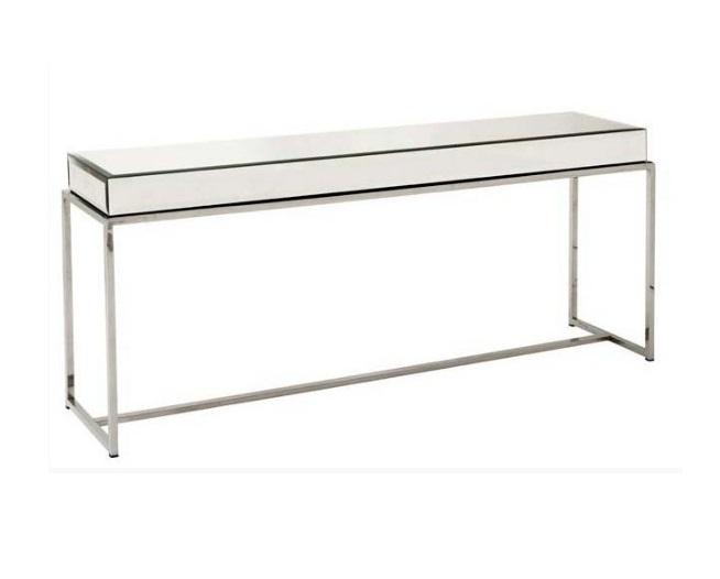 Консоль PachaИнтерьерные консоли<br>Консоль Pacha - это роскошный предмет мебели, который придется по вкусу ценителям изысканных и дорогих вещей. Основание аксессуара изготовлено из стали, а столешница из зеркал, отражающие блики света и визуально увеличивающие пространство.&amp;lt;div&amp;gt;&amp;lt;br&amp;gt;&amp;lt;/div&amp;gt;&amp;lt;div&amp;gt;Материал: нержавеющая сталь, стекло.&amp;lt;br&amp;gt;&amp;lt;/div&amp;gt;<br><br>Material: Стекло<br>Ширина см: 160.0<br>Высота см: 70.0<br>Глубина см: 40.0