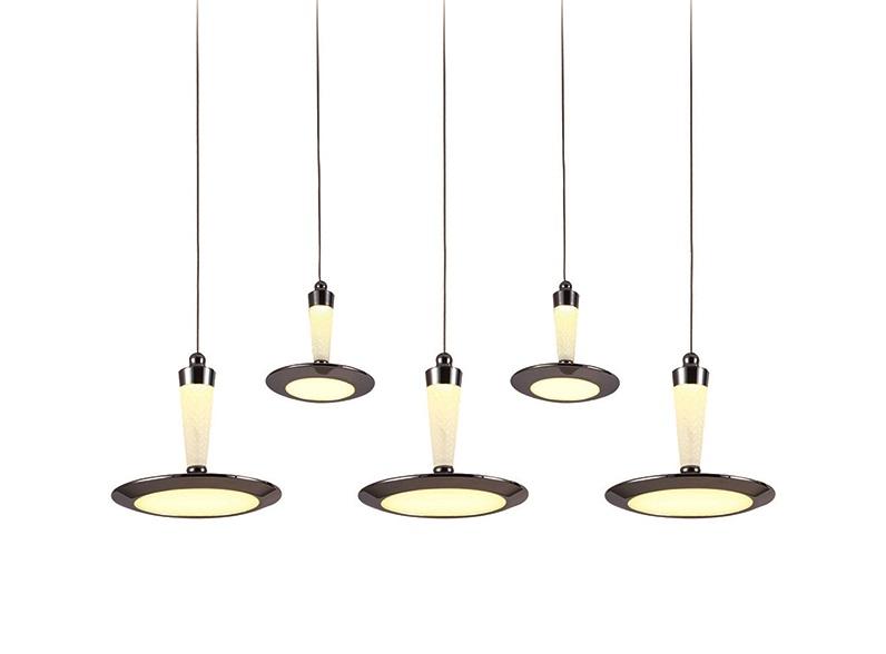 Подвесной светильник СпайкПодвесные светильники<br>Вид цоколя: LED (4000К)Мощность:&amp;nbsp; 12WКоличество ламп: 5 (в комплекте)Материал: металл, акрил<br><br>kit: None<br>gender: None