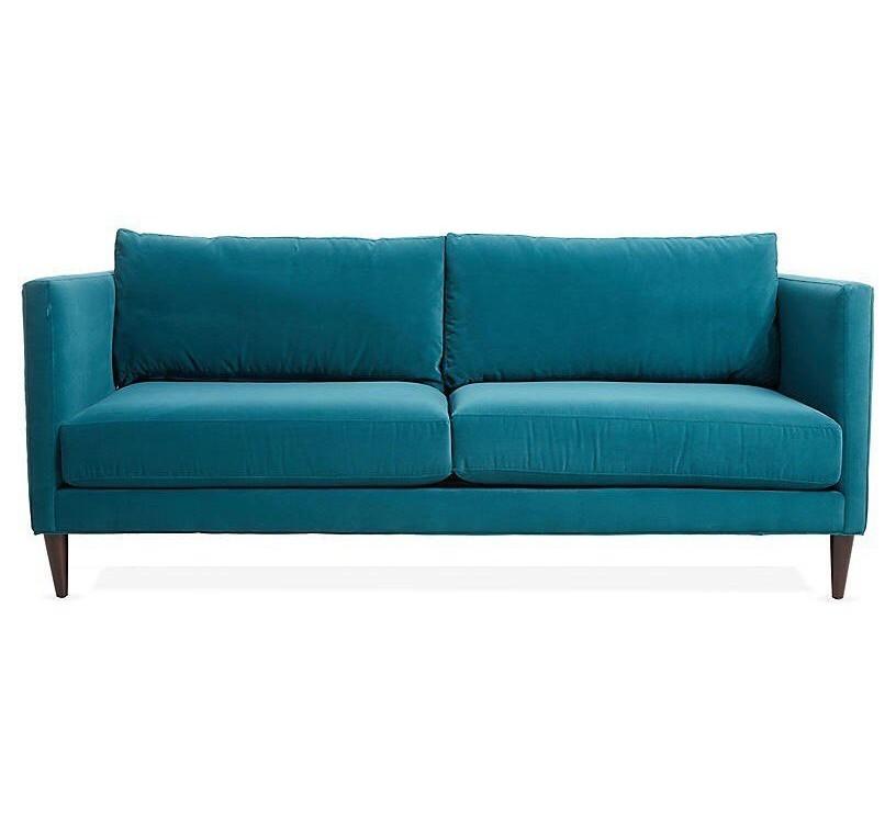 Icon designe диван evelyn бирюзовый  80865/5