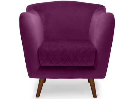 Кресло cool (myfurnish) фиолетовый 82.0x84.0x91.0 см.