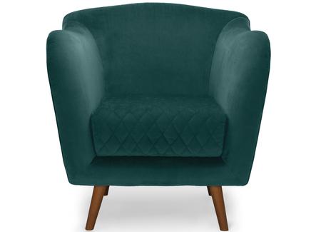 Кресло cool (myfurnish) зеленый 82.0x84.0x91.0 см.
