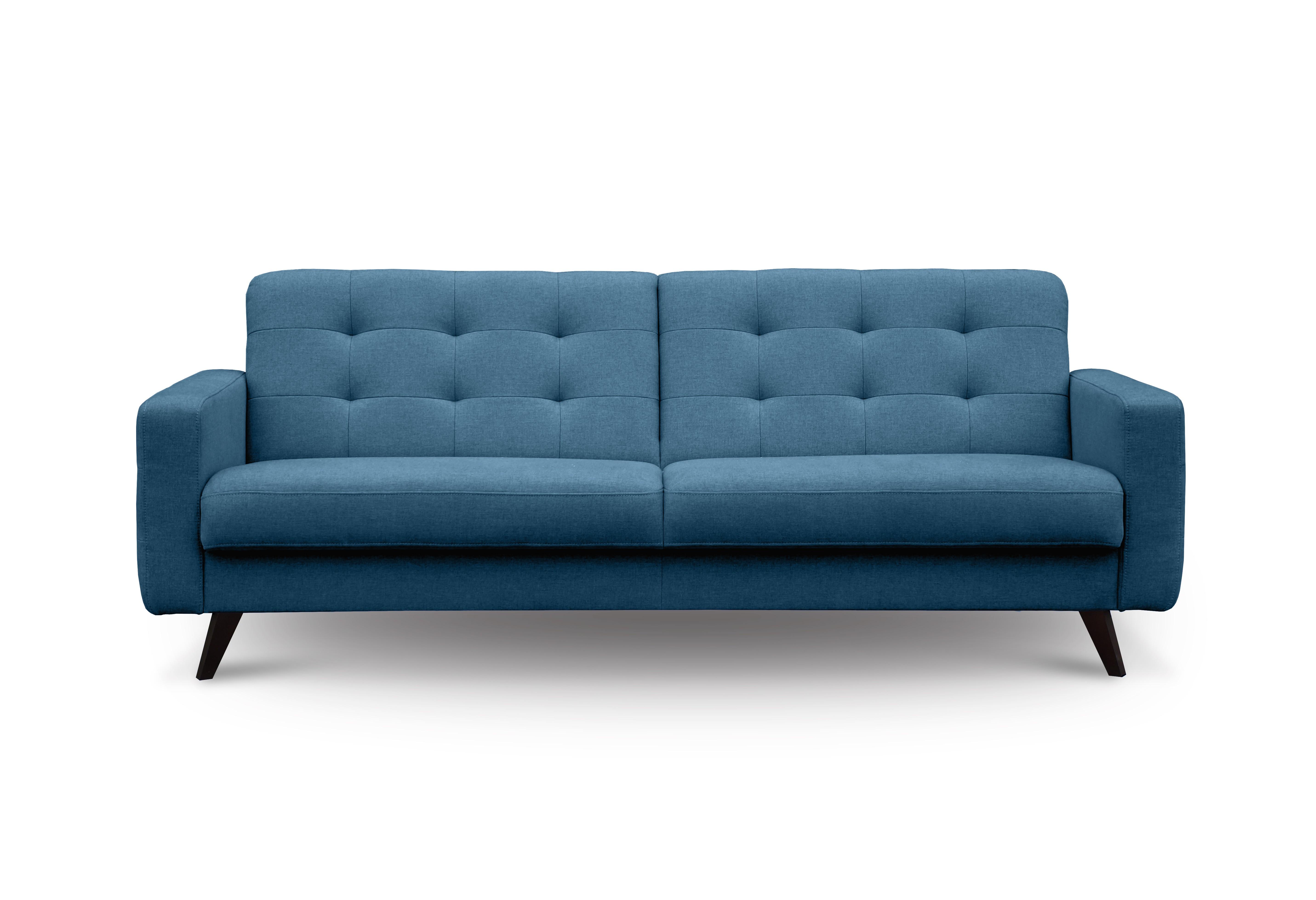 Myfurnish диван-кровать california синий  80963/15