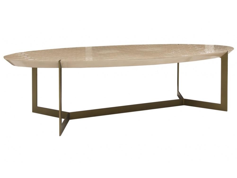 Столик OvaladaЖурнальные столики<br>Столик &amp;quot;Ovalada&amp;quot; от известного испанского бренда Guadarte.&amp;lt;div&amp;gt;Материал: дерево, металл&amp;lt;/div&amp;gt;<br><br>Material: Дерево<br>Ширина см: 190<br>Высота см: 45<br>Глубина см: 90