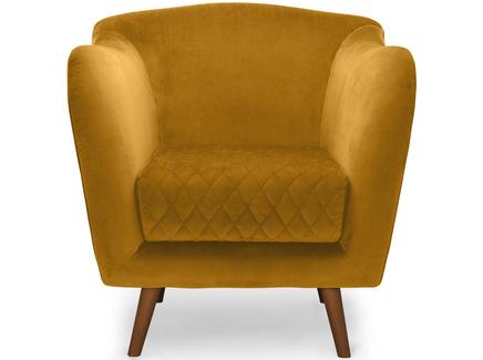 Кресло cool (myfurnish) желтый 82.0x84.0x91.0 см.