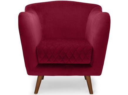 Кресло cool (myfurnish) красный 82.0x84.0x91.0 см.