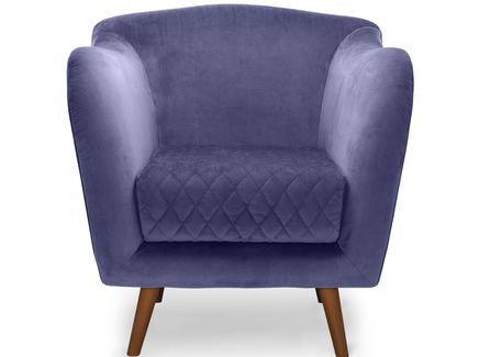 Кресло cool (myfurnish) фиолетовый 82x84x91 см.