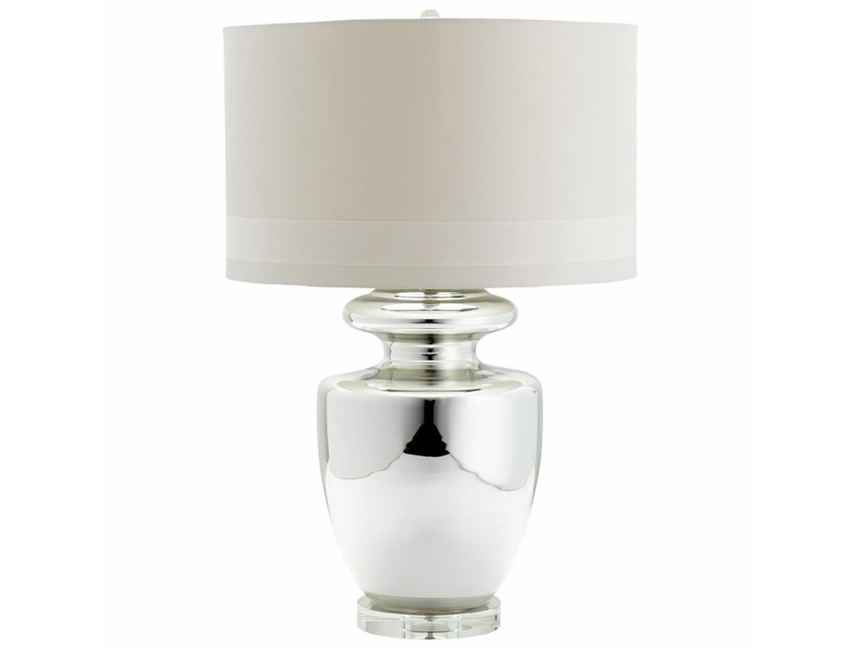 Настольная лампа ЛораДекоративные лампы<br>Вид цоколя: E27Мощность:&amp;nbsp; 60WКоличество ламп: 1 (нет в комплекте)Материал: стекло, латунь<br><br>kit: None<br>gender: None