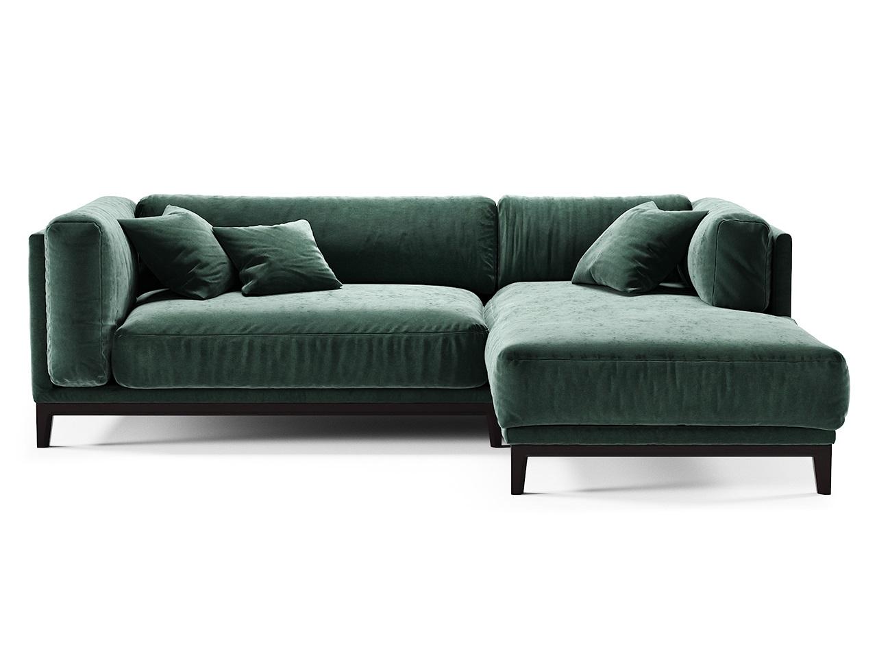 The idea диван case зеленый 81073/4