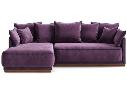 Диван soho (the idea) фиолетовый 248x92x162 см.