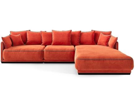 Диван soho (the idea) красный 342x92x195 см.