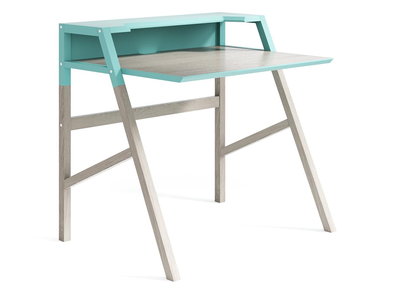 Рабочий стол Youk (мятный)Письменные столы<br>Компьютерный стол YOUK является воплощением идеи функциональности. Удобная рабочая поверхность, полка для канцелярии, углубление для монитора, отверстие для проводов – эти детали создают действительно комфортное рабочее место.&amp;lt;div&amp;gt;&amp;lt;br&amp;gt;&amp;lt;/div&amp;gt;&amp;lt;div&amp;gt;Материал: массив дуба, МДФ, натуральный шпон дуба, лак&amp;lt;/div&amp;gt;<br><br>Material: Дуб<br>Ширина см: 92<br>Высота см: 88<br>Глубина см: 70