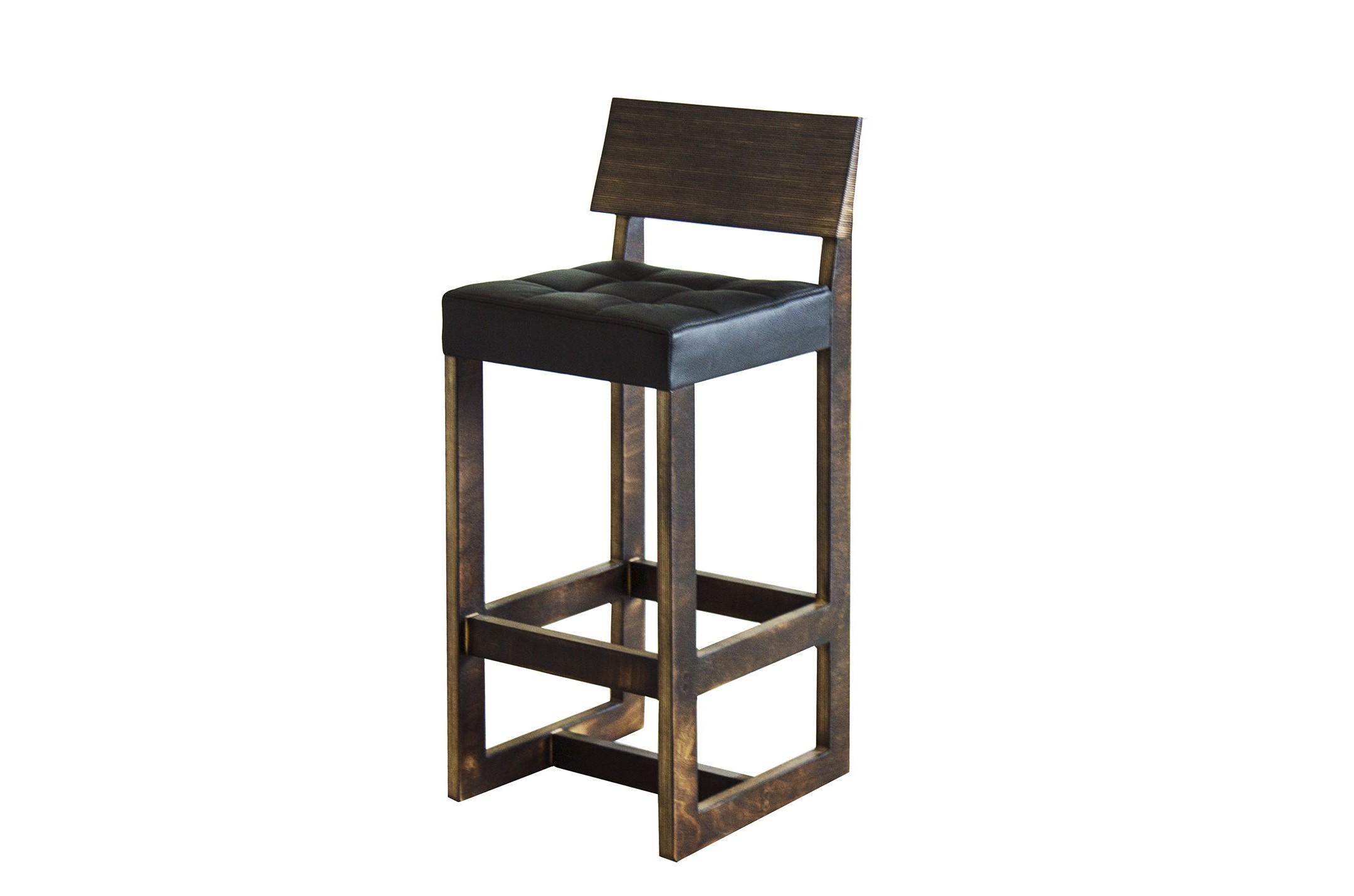 Барный стул Brazilia BarБарные стулья<br>Материал: фанера,&amp;nbsp;поролон, бычья кожа.На основание крепится мебельный войлок.Бычья кожа - прочный и долговечный материал, эстетически привлекательна, придает вещам, одновременно, и утончённо-элегантный вид, и создает ощущение основательности и некоторой суровости.<br><br>kit: None<br>gender: None