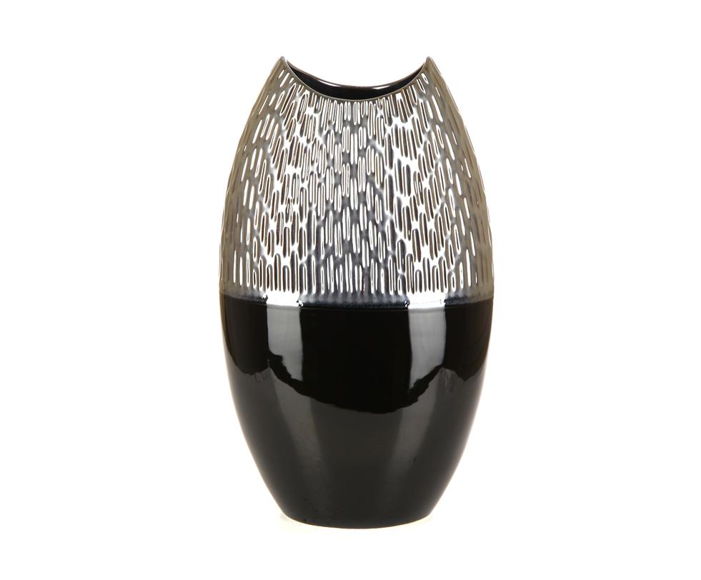 Ваза декоративная 266-188BRPВазы<br><br><br>Material: Керамика<br>Width см: 25<br>Depth см: 12<br>Height см: 40