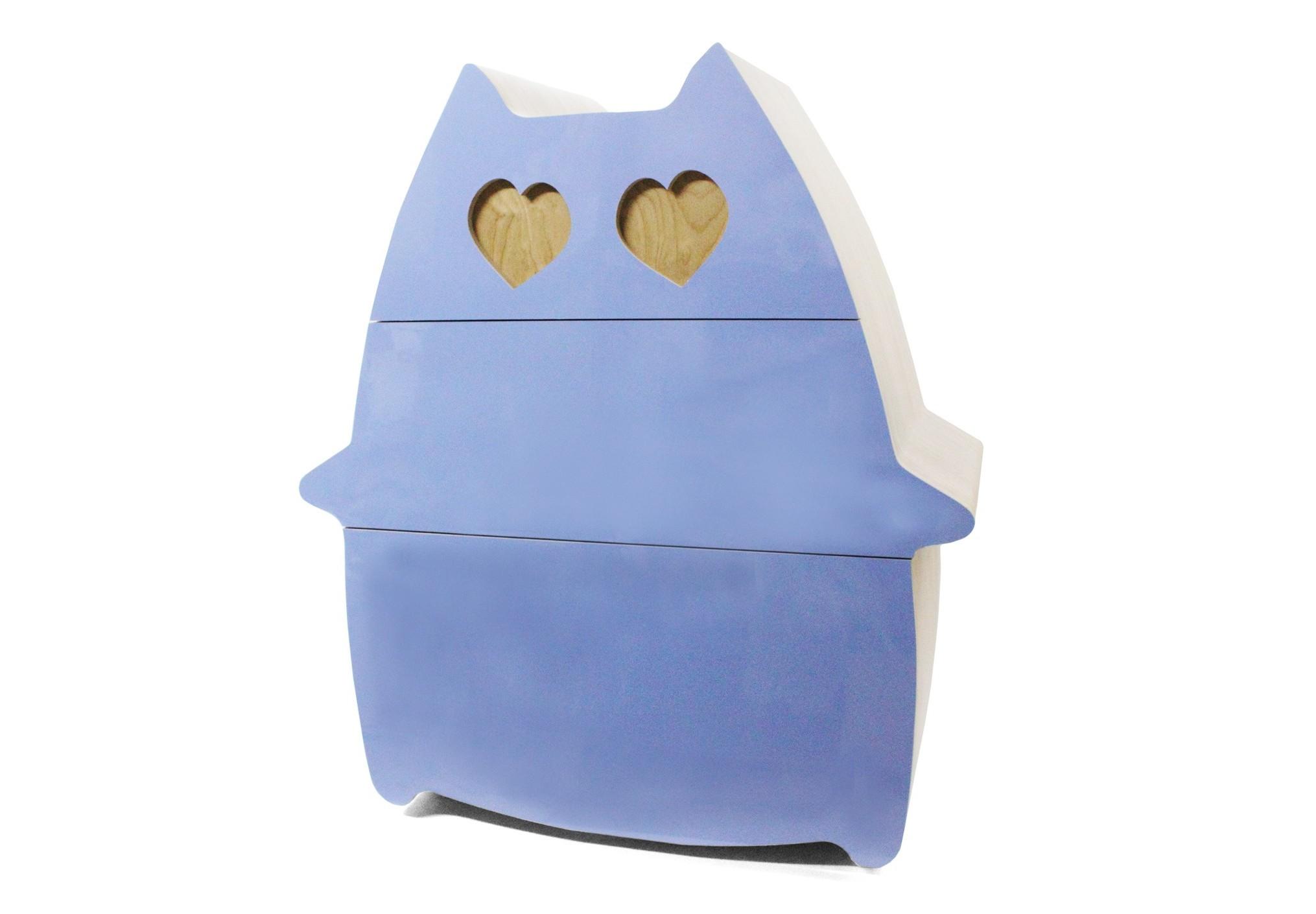Комод Сat in love - обнимунИнтерьерные комоды<br>Прелестный комод с ящиками, которые выдвигаются при легком прикосновении руки. Обязательно создаст приятное и свежее настроение в спальне или детской комнате.&amp;amp;nbsp;&amp;lt;div&amp;gt;&amp;lt;br&amp;gt;&amp;lt;/div&amp;gt;&amp;lt;div&amp;gt;&amp;lt;div&amp;gt;Комод CAT IN LOVE - ОБНИМУН, в противовес своему ироничному, веселому внешнему виду, является технически очень сложным изделием, столяр, выполняющий работу над ним, должен иметь высочайшую квалификацию и большой опыт.&amp;lt;br&amp;gt;&amp;lt;/div&amp;gt;&amp;lt;/div&amp;gt;&amp;lt;div&amp;gt;&amp;lt;span style=&amp;quot;font-size: 14px;&amp;quot;&amp;gt;&amp;lt;br&amp;gt;&amp;lt;/span&amp;gt;&amp;lt;/div&amp;gt;&amp;lt;div&amp;gt;&amp;lt;div&amp;gt;Возможные размеры: глубина 385/470 мм.&amp;lt;/div&amp;gt;&amp;lt;div&amp;gt;Материал: березовая фанера.&amp;lt;/div&amp;gt;&amp;lt;/div&amp;gt;<br><br>Material: Фанера<br>Ширина см: 92<br>Высота см: 100<br>Глубина см: 38