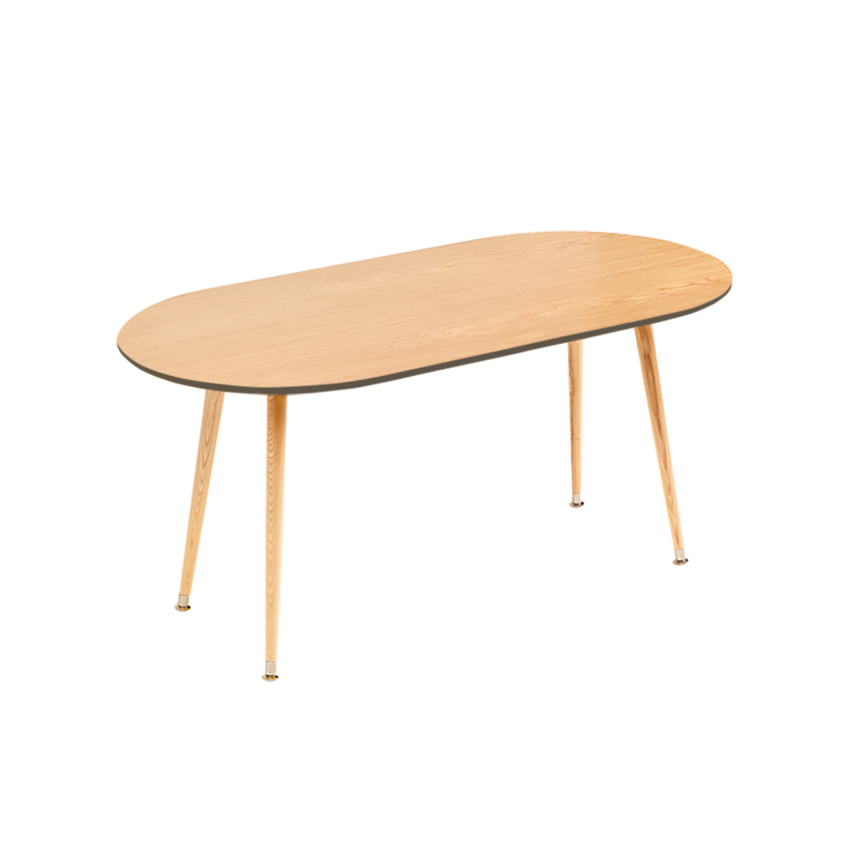 Журнальный столик SoapЖурнальные столики<br>&amp;lt;div&amp;gt;Журнальный столик в стиле 50-х годов Soap входит в коллекцию журнальных столиков Woodi Furniture. Журнальный столик покрыт высокопрочным лаковым покрытием, что делает его идеальным предметом мебели для ресторанов, кафе и баров, а также для любых других общественных пространств. Классическая для стиля 50-х годов эргономичная форма не утяжеляет пространство, а размер столешницы журнального столика для гостиной делает его удобным для больших компаний.&amp;amp;nbsp;&amp;lt;/div&amp;gt;&amp;lt;div&amp;gt;&amp;lt;br&amp;gt;&amp;lt;/div&amp;gt;&amp;lt;div&amp;gt;Четыре высокие ножки конической формы, выполненные из массива бука и покрытые прозрачным лаком, сужаются книзу, что добавляет столику элегантности и легкости. Нижняя часть ножек украшена металлическими наконечниками стального цвета. Верхняя часть столешницы, которая изготовлена из МДФ, покрыта натуральным дубовым шпоном, нижняя часть столешницы и боковой кант окрашены в цвета из палитры Woodi Furniture.&amp;amp;nbsp;&amp;lt;/div&amp;gt;&amp;lt;div&amp;gt;&amp;lt;br&amp;gt;&amp;lt;/div&amp;gt;&amp;lt;div&amp;gt;Журнальный столик для гостиной Soap может использоваться по отдельности или в комбинации с другими журнальными столиками Woodi Furniture. Журнальный столик в стиле 50-х годов Soap легко собирается без шурупов и инструментов.&amp;lt;/div&amp;gt;&amp;lt;div&amp;gt;&amp;lt;br&amp;gt;&amp;lt;/div&amp;gt;&amp;lt;div&amp;gt;Материал: столешница – МДФ, лакированный дубовый шпон, краска; ножки – массив бука, лак.&amp;lt;br&amp;gt;&amp;lt;/div&amp;gt;<br><br>Material: МДФ<br>Ширина см: 120.0<br>Высота см: 59.0<br>Глубина см: 60.0