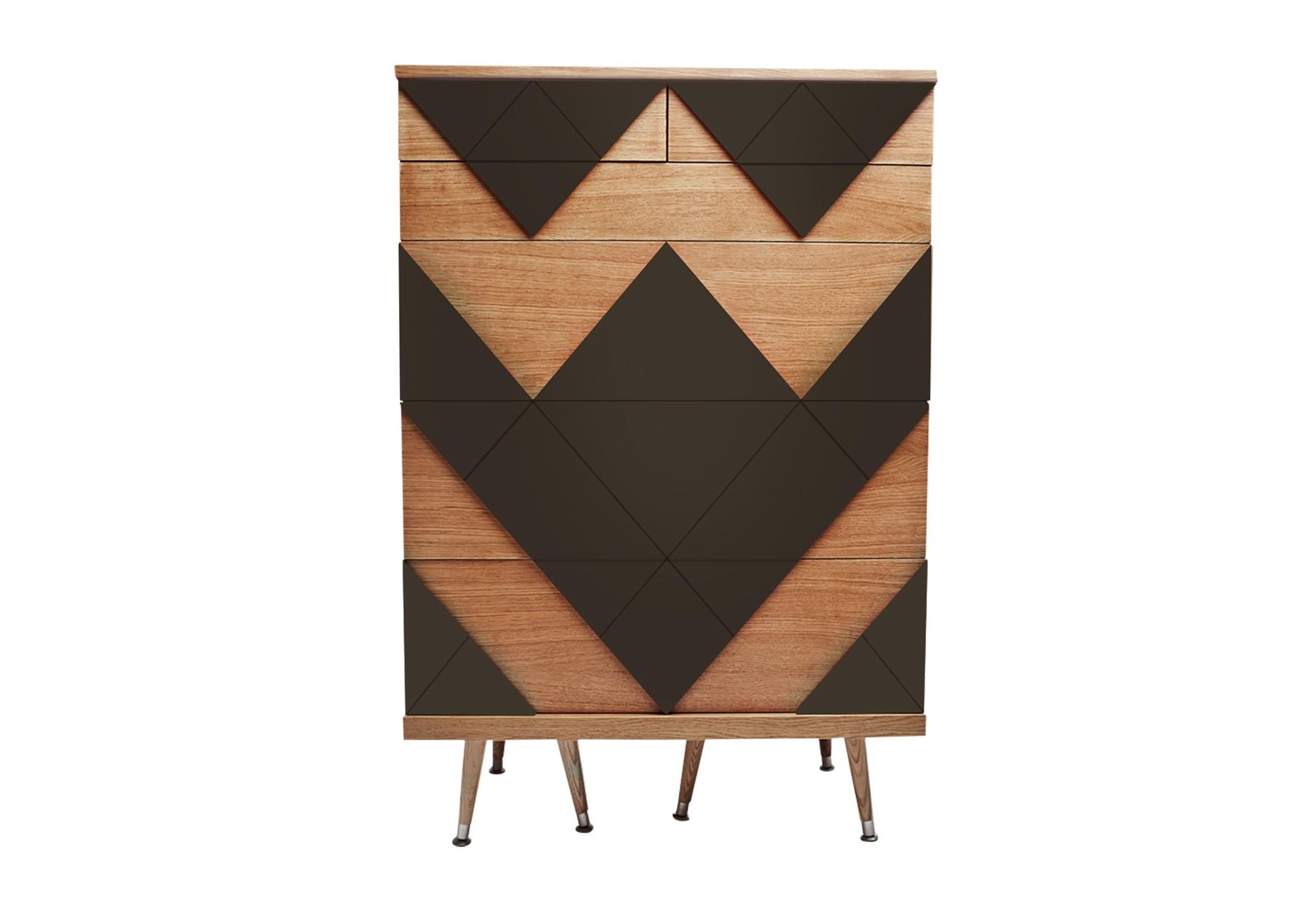 """Купить Комод """"big woo"""" (Woodi) коричневый мдф 80x120x50 см. 81409 в интернет магазине. Цены, фото, описания, характеристики, отзывы, обзоры"""