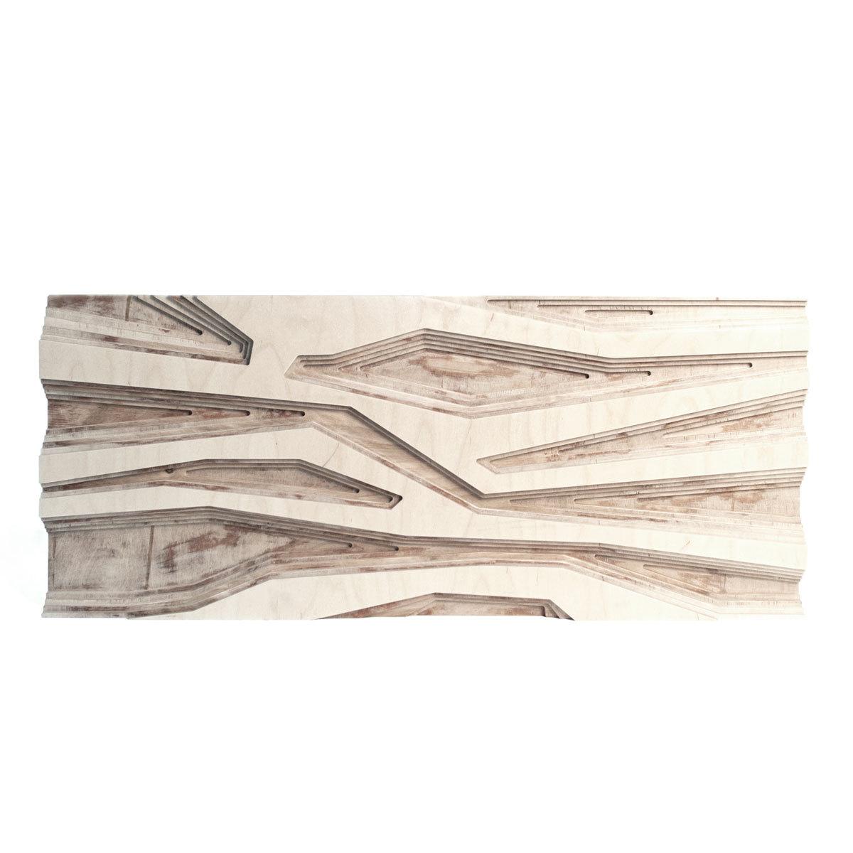 Панно AnglewaveПанно<br>Декоративное настенное панно из дерева станет прекрасным украшением интерьера в эко или кантри стиле. Резные геометрические узоры словно лабиринт на стене.&amp;amp;nbsp;&amp;lt;div&amp;gt;&amp;lt;br&amp;gt;&amp;lt;/div&amp;gt;&amp;lt;div&amp;gt;&amp;lt;div&amp;gt;&amp;lt;div&amp;gt;Материал: березовая фанера.&amp;lt;/div&amp;gt;&amp;lt;div&amp;gt;Особенности: на обратной стороне имеют 2 закладные детали для крепления на стену.&amp;lt;/div&amp;gt;&amp;lt;/div&amp;gt;Возможно изготовление в других цветах. Подробности уточняйте у менеджеров.&amp;lt;br&amp;gt;&amp;lt;/div&amp;gt;&amp;lt;div&amp;gt;&amp;lt;br&amp;gt;&amp;lt;/div&amp;gt;<br><br>Material: Фанера<br>Ширина см: 88<br>Высота см: 37