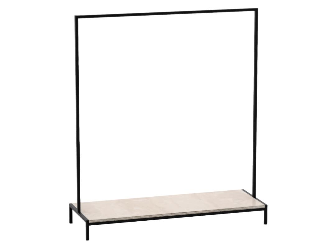 Рейл для одежды с полкой Metalframe АВешалки<br>Особенности: на основание крепится мебельный войлокВозможно изготовление в других размерах и отделке. Подробности уточняйте у менеджера.<br><br>kit: None<br>gender: None
