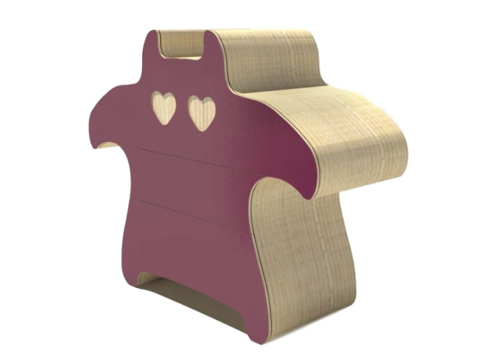 Комод Cat in love - дикий зверьДетские комоды<br>&amp;lt;div&amp;gt;Яркий комод в форме кота станет для ребенка настоящим мебельным другом. Комод &amp;quot;CAT IN LOVE - ДИКИЙ ЗВЕРЬ&amp;quot; - это оригинальный предмет для детской комнаты. За цветным фасадом скрыты три полноценных отделения для хранения. Плавные формы и отсутствие острых уголков - то, что необходимо маленькому непоседе. Веселый дизайн располагает к поддержанию атмосферы в комнате.&amp;lt;/div&amp;gt;&amp;lt;div&amp;gt;&amp;lt;br&amp;gt;&amp;lt;/div&amp;gt;&amp;lt;div&amp;gt;Материал: березовая фанера&amp;lt;/div&amp;gt;&amp;lt;div&amp;gt;Возможно изготовление в других размерах и отделке. Подробности уточняйте у менеджера.&amp;lt;br&amp;gt;&amp;lt;/div&amp;gt;&amp;lt;div&amp;gt;&amp;lt;br&amp;gt;&amp;lt;/div&amp;gt;<br><br>Material: Фанера<br>Ширина см: 130<br>Высота см: 108<br>Глубина см: 38