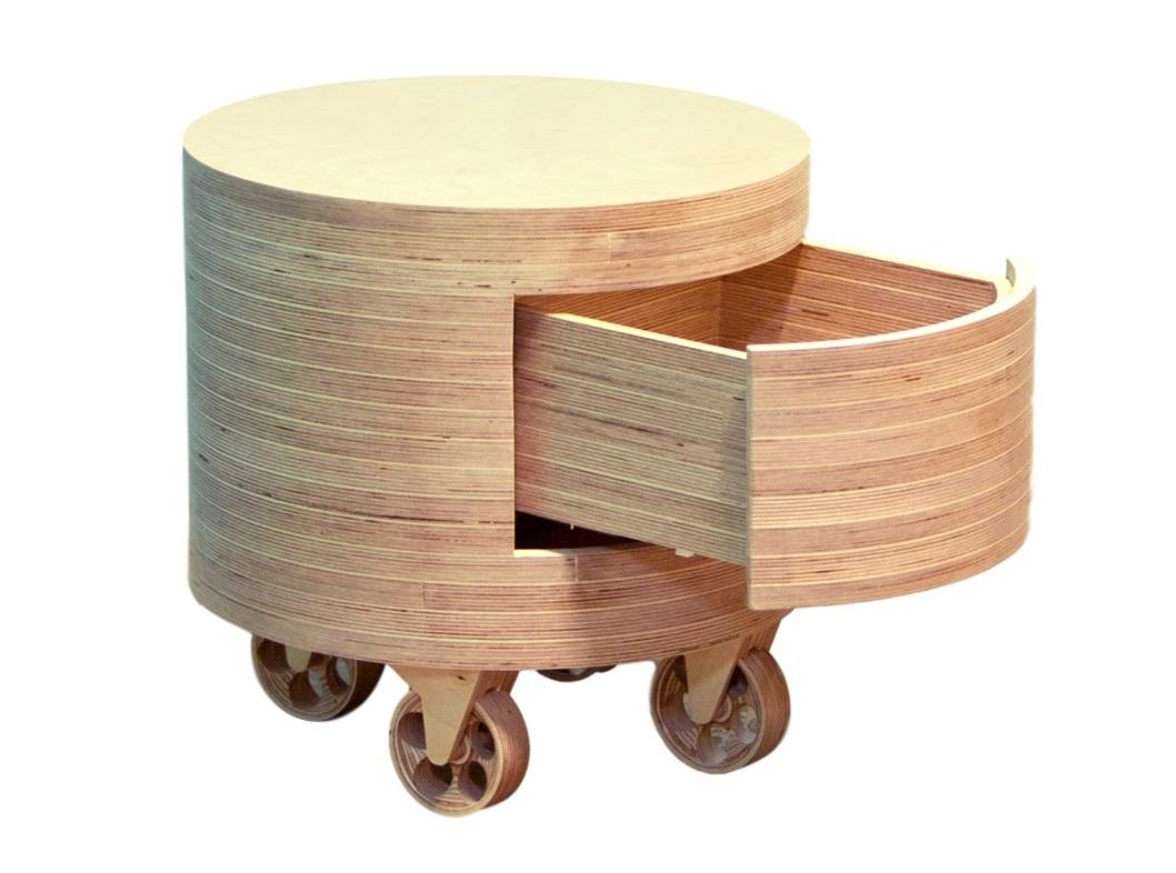 Тумбочка на колесах TubeМобильные тумбы<br>&amp;lt;div&amp;gt;Хорошо, когда привычная тумба становится стильной, функциональной и мобильной. Именно об этом позаботились дизайнеры Archpole, создавая &amp;quot;TUBE&amp;quot;. К аккуратному бруску из дерева прикрепили четыре миниатюрных колесика, а ящик спрятали в фасаде. &amp;amp;nbsp;Она с легкостью превратится и в прикроватный столик и в передвижной табурет. Подойдет для интерьеров в скандинавском стиле.&amp;lt;/div&amp;gt;&amp;lt;div&amp;gt;&amp;lt;br&amp;gt;&amp;lt;/div&amp;gt;Материалы: березовая фанера&amp;lt;div&amp;gt;Особенности: открывание от нажатия, колеса не вращаются&amp;lt;/div&amp;gt;&amp;lt;div&amp;gt;Возможно изготовление в другой отделке. Подробности уточняйте у менеджера.&amp;lt;br&amp;gt;&amp;lt;/div&amp;gt;<br><br>Material: Фанера<br>Высота см: 46
