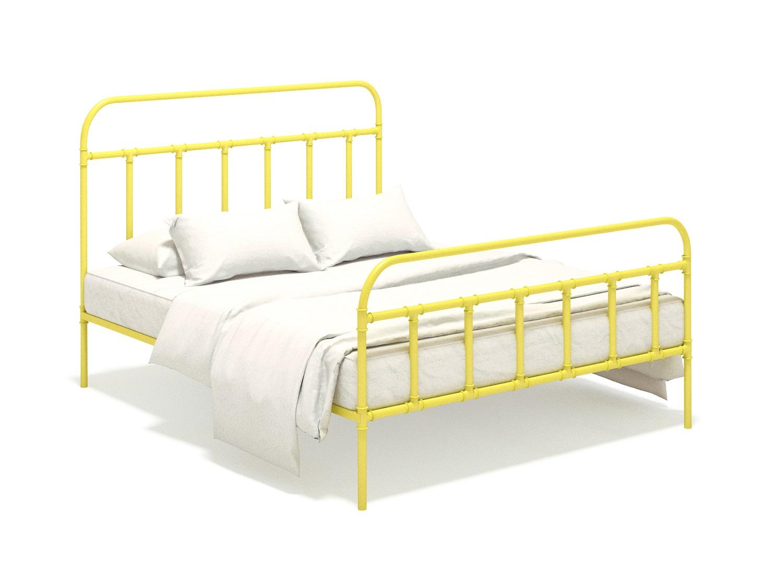 Кровать RockyКованые и металлические кровати<br>&amp;lt;div&amp;gt;&amp;lt;div&amp;gt;Ищите &amp;quot;ту самую&amp;quot; кровать для своего индустриального интерьера? Можете остановиться прямо сейчас! Самобытная и лаконичная кровать &amp;quot;Rocky&amp;quot;, выполненная из литой стали в желтом цвете, станет не просто дополнением к вашей комнате, но добавит ей независимости и завершенности.&amp;lt;/div&amp;gt;&amp;lt;div&amp;gt;&amp;lt;br&amp;gt;&amp;lt;/div&amp;gt;&amp;lt;div&amp;gt;Основание входит в стоимость.&amp;lt;br&amp;gt;&amp;lt;/div&amp;gt;&amp;lt;div&amp;gt;Отделка изголовья может быть любой: от металлических до полноцветных оттенков.&amp;lt;br&amp;gt;&amp;lt;/div&amp;gt;&amp;lt;div&amp;gt;Размер спального места 150х200 см.&amp;lt;br&amp;gt;&amp;lt;/div&amp;gt;&amp;lt;/div&amp;gt;&amp;lt;div&amp;gt;&amp;lt;br&amp;gt;&amp;lt;/div&amp;gt;<br><br>Material: Сталь<br>Ширина см: 150<br>Высота см: 125<br>Глубина см: 200
