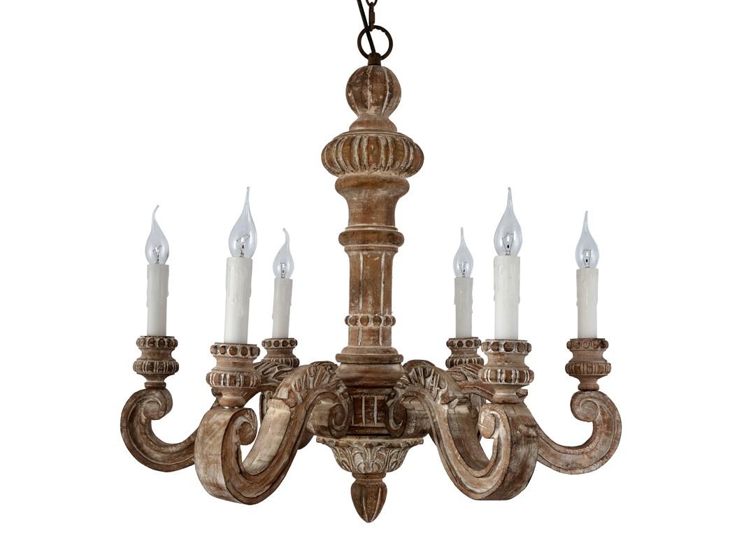 ЛюстраПодвесные светильники<br>Классическая резная люстра из дерева. Отделка натуральное светлое дерево с патиной.&amp;lt;div&amp;gt;&amp;lt;br&amp;gt;&amp;lt;/div&amp;gt;&amp;lt;div&amp;gt;&amp;lt;div&amp;gt;Вид цоколя: E14&amp;lt;/div&amp;gt;&amp;lt;div&amp;gt;Мощность:&amp;amp;nbsp;40W&amp;lt;/div&amp;gt;&amp;lt;div&amp;gt;Количество ламп: 6 (нет в комплекте)&amp;lt;/div&amp;gt;&amp;lt;/div&amp;gt;<br><br>Material: Дерево<br>Ширина см: 75.0<br>Высота см: 68.0<br>Глубина см: 75.0