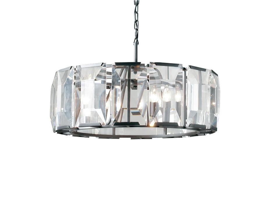 Подвесной светильникПодвесные светильники<br>Подвесной светильник с металлическим каркасом темно-серого цвета. По периметру абажура располагаются большие кристаллы.&amp;lt;div&amp;gt;&amp;lt;br&amp;gt;&amp;lt;/div&amp;gt;&amp;lt;div&amp;gt;&amp;lt;div&amp;gt;Вид цоколя: E14&amp;lt;/div&amp;gt;&amp;lt;div&amp;gt;Мощность:&amp;amp;nbsp; 60W&amp;lt;/div&amp;gt;&amp;lt;div&amp;gt;Количество ламп: 4 (нет в комплекте)&amp;lt;/div&amp;gt;&amp;lt;/div&amp;gt;<br><br>Material: Стекло<br>Ширина см: 68.0<br>Высота см: 25.0<br>Глубина см: 68.0