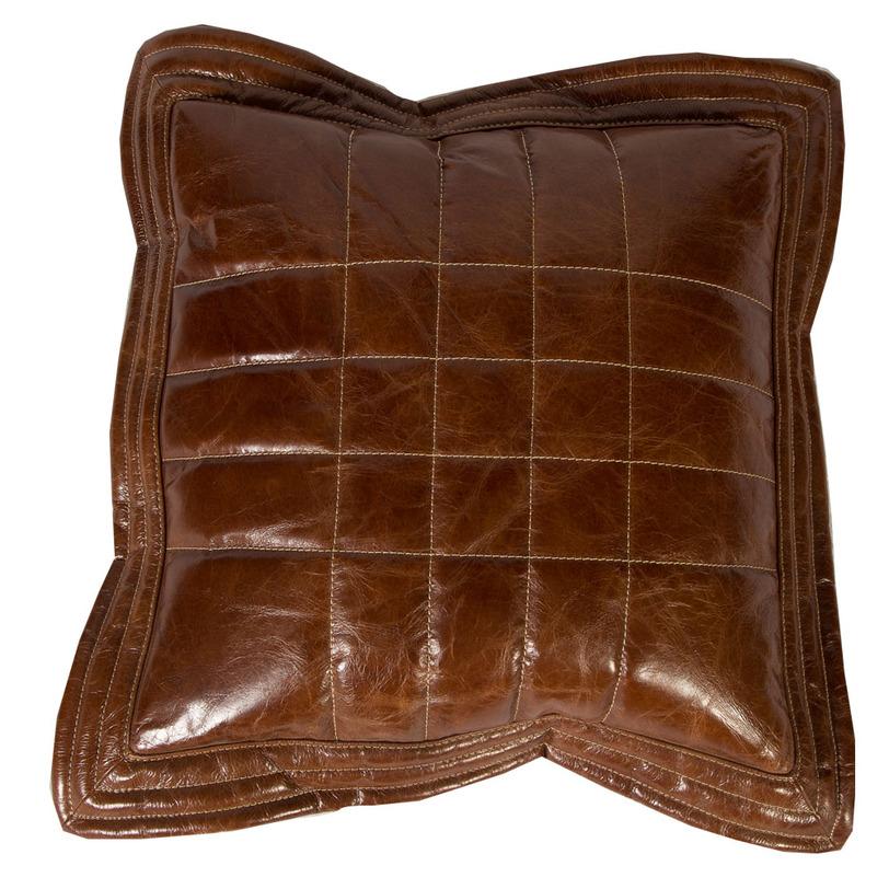 Подушка из телячьей кожиКвадратные подушки и наволочки<br><br><br>Material: Кожа<br>Length см: 55<br>Width см: 55