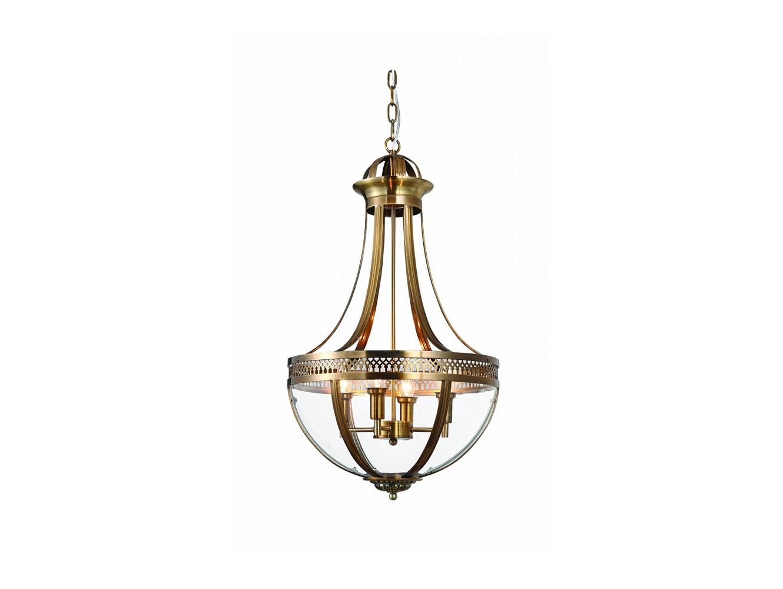 ЛюстраЛюстры подвесные<br>Подвесной 4-х рожковый светильник-латерна выполнен из металла цвета античная латунь. Створки плафона выполнены из прозрачного стекла.&amp;amp;nbsp;&amp;lt;div&amp;gt;Высота светильника регулируется.&amp;lt;/div&amp;gt;&amp;lt;div&amp;gt;&amp;lt;br&amp;gt;&amp;lt;/div&amp;gt;&amp;lt;div&amp;gt;&amp;lt;div&amp;gt;Вид цоколя: E14&amp;lt;/div&amp;gt;&amp;lt;div&amp;gt;Мощность:&amp;amp;nbsp; 40W&amp;lt;/div&amp;gt;&amp;lt;div&amp;gt;Количество ламп: 4 (нет в комплекте)&amp;lt;/div&amp;gt;&amp;lt;/div&amp;gt;<br><br>Material: Стекло<br>Ширина см: 43.0<br>Высота см: 75.0<br>Глубина см: 43.0