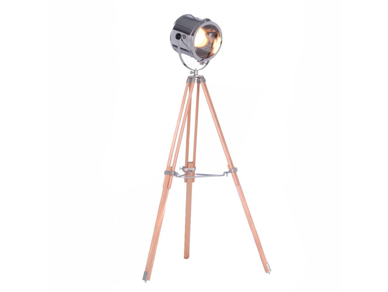 ПрожекторПрожекторы<br>Торшер на основании из дерева светло-бежевого цвета. Плафон выполнен из нержавеющей стали.&amp;lt;div&amp;gt;&amp;lt;br&amp;gt;&amp;lt;/div&amp;gt;&amp;lt;div&amp;gt;&amp;lt;div&amp;gt;Вид цоколя: E27&amp;lt;/div&amp;gt;&amp;lt;div&amp;gt;Мощность:&amp;amp;nbsp; 60W&amp;lt;/div&amp;gt;&amp;lt;div&amp;gt;Количество ламп: 1 (нет в комплекте)&amp;lt;/div&amp;gt;&amp;lt;/div&amp;gt;<br><br>Material: Сталь<br>Ширина см: 25.0<br>Высота см: 155.0<br>Глубина см: 25.0